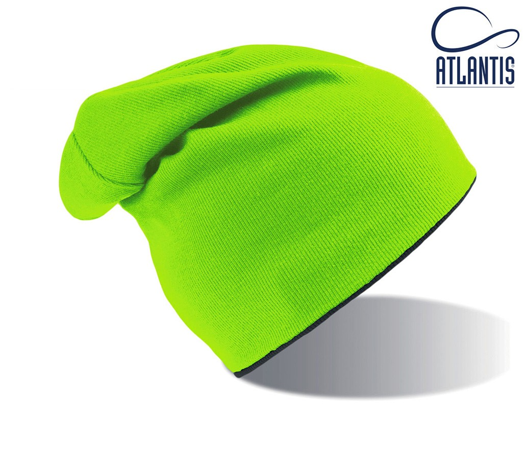CZAPKA DWUSTRONNA EXTREME - Zielono-czarna