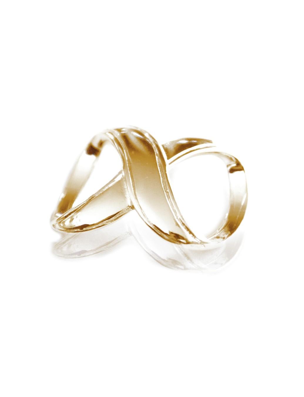 KLAMRA INFINITY DO PAREO - kolor złoty