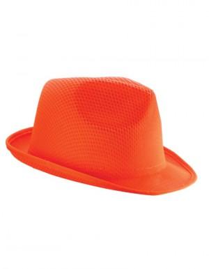 KAPELUSZ TRILBY - Pomarańczowy