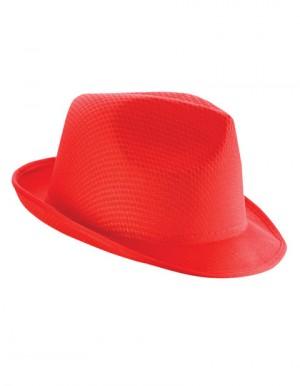 KAPELUSZ TRILBY - Czerwony