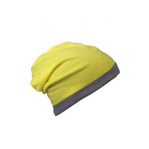 CZAPKA SUMMER BEANIE - Żółta