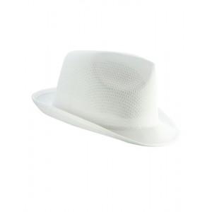 KAPELUSZ TRILBY - Biały
