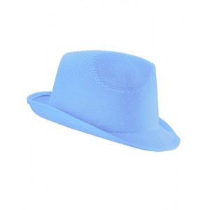 KAPELUSZ TRILBY - Błękitny