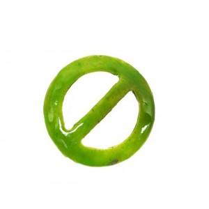 KOKOSOWA KLAMRA DO PAREO - Zielona