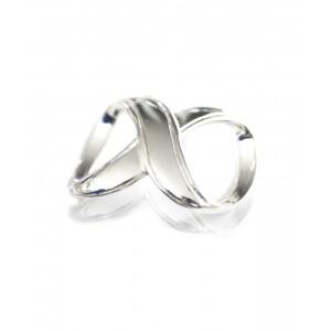 KLAMRA INFINITY DO PAREO - kolor srebrny