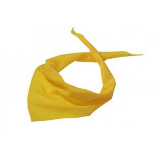 APASZKA CHUSTA TRÓJKĄTNA - Żółta