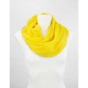KOMIN JEDNOBARWNY - Żółty