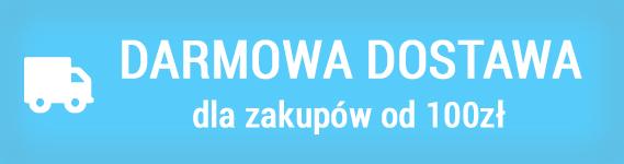 Darmowa dostawa dla zakupów od 100 zł